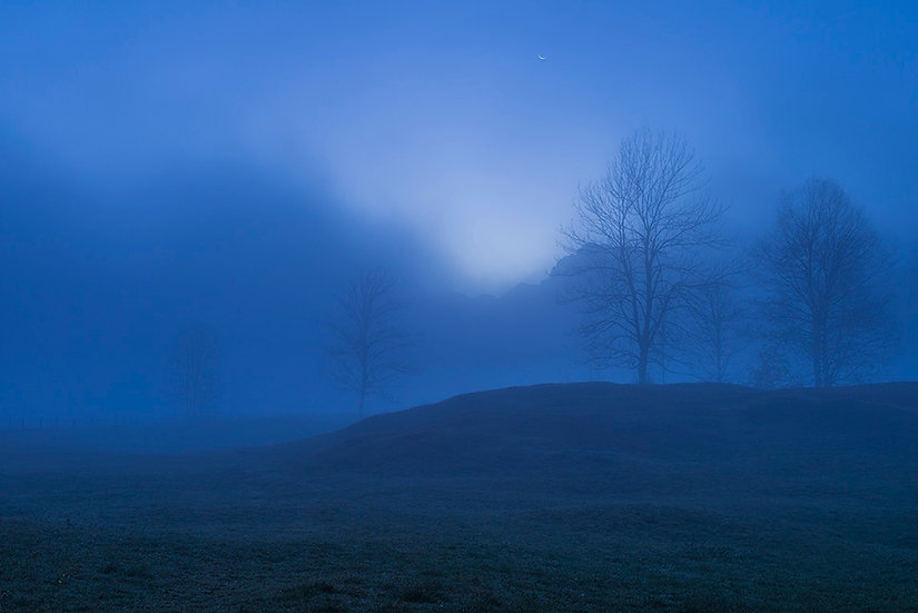 Blauer Morgen