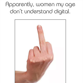 Blogging to the big girls.