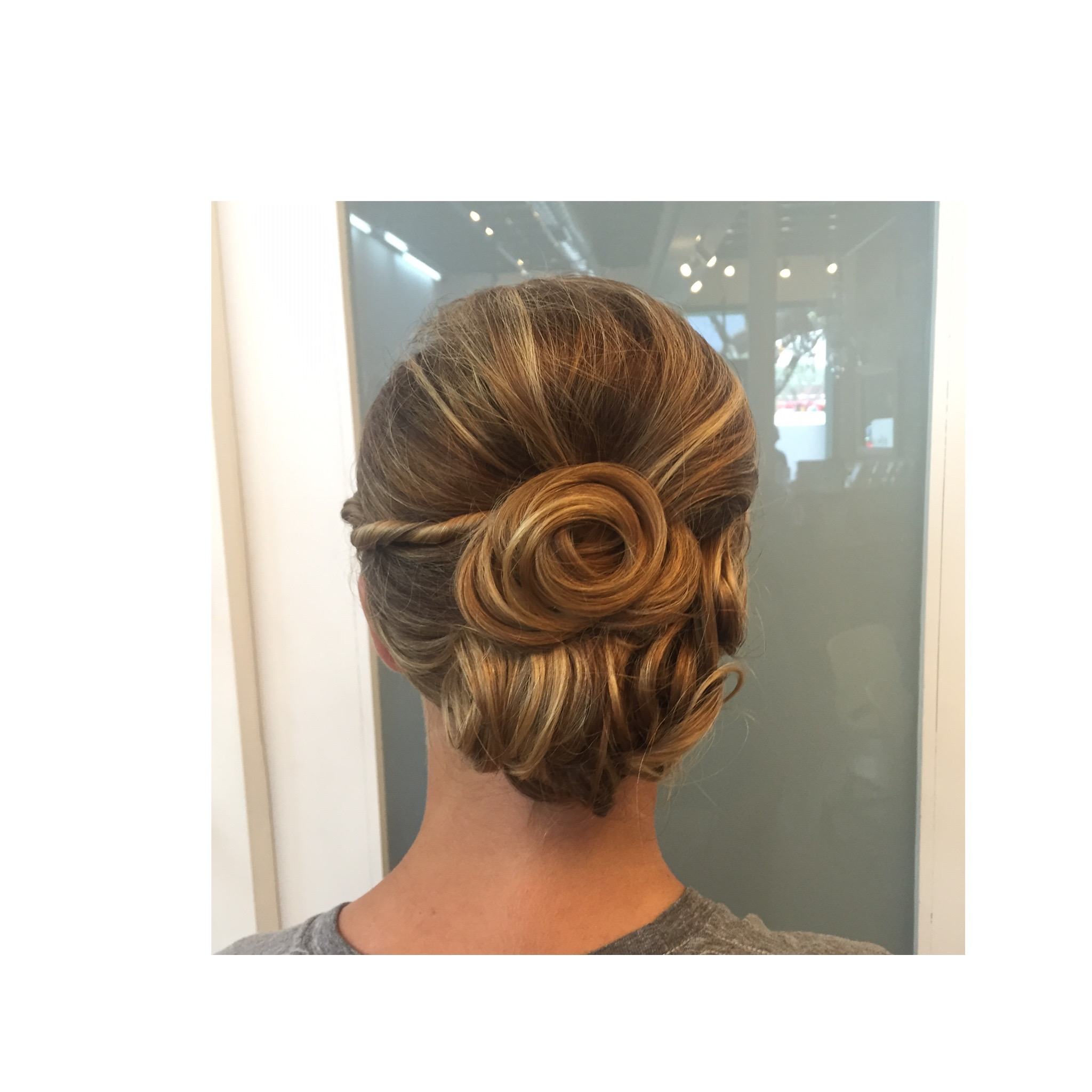 Wedding hair @kmiasalon