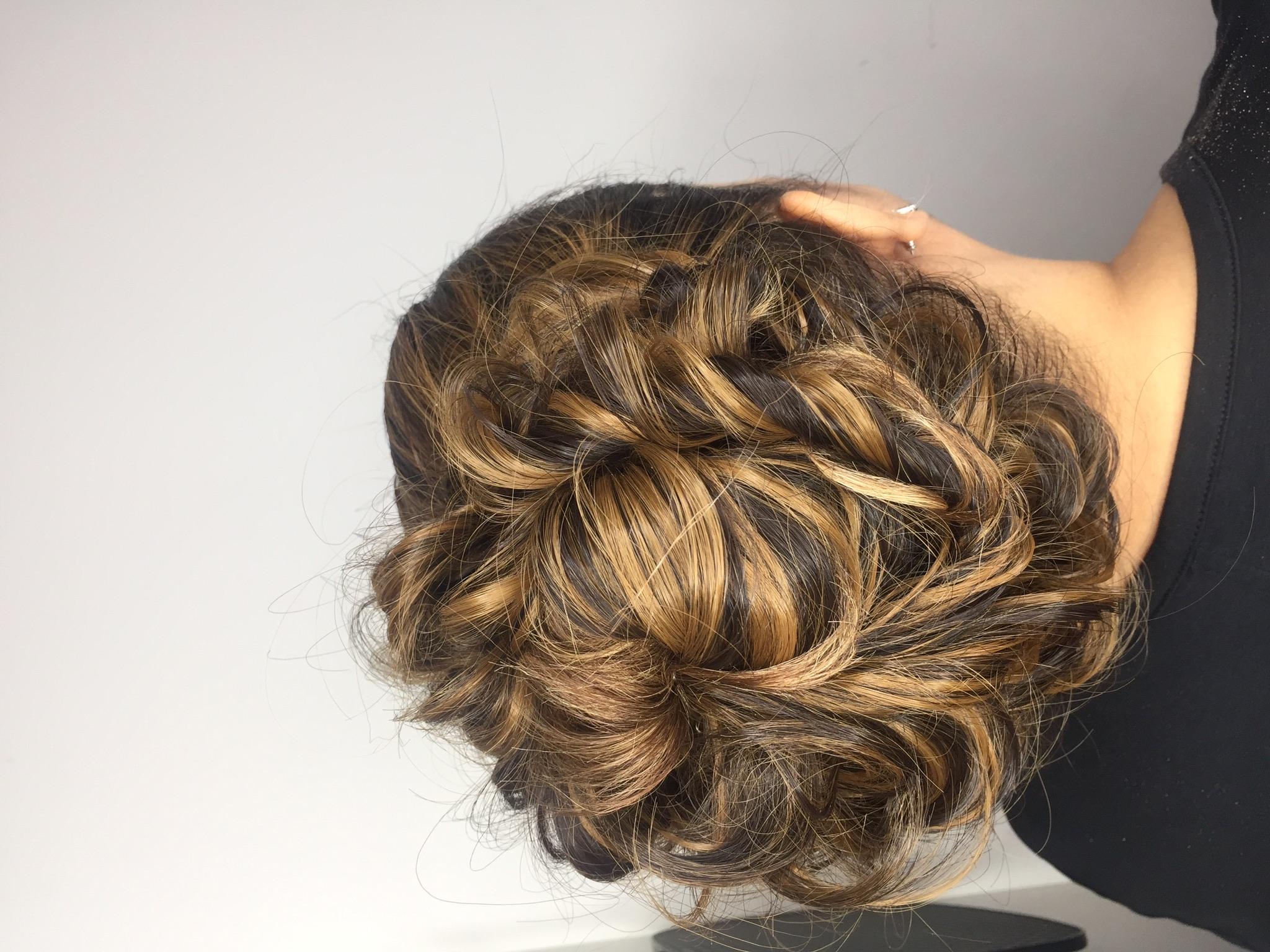 Wedding hair @kmiasalon