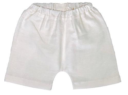 Short tipo baggy de lino