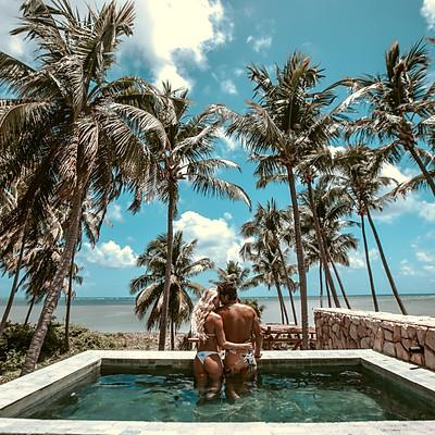 Pré Wedding na Praia | Caroline Bittencourt e Jorge Sestini