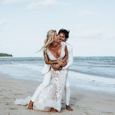 Casamento na Praia | Caroline Bittencourt e Jorge Sestini