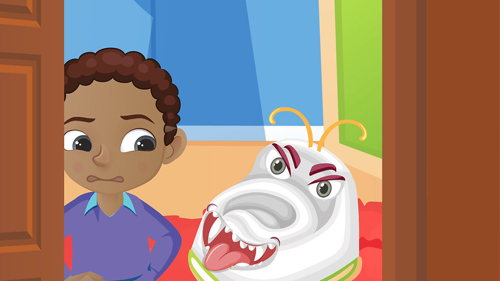 Karter and the Potty Training Monster