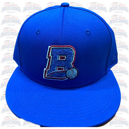 Blue On-Field 'B' Cap (with blue button)