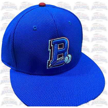 Blue On-Field 'B' Cap (with red button)