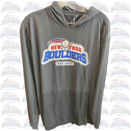 Men's Gray New York Boulders Sweatshirt