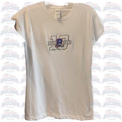 Women's 10th Anniversary T-Shirt