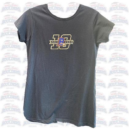 Women's Navy 10th Anniversary T-Shirt
