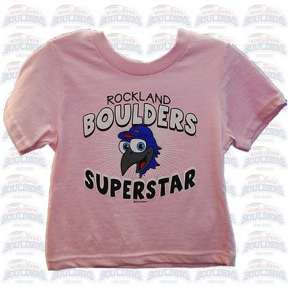 Rockland Boulders Superstar Toddler Tee