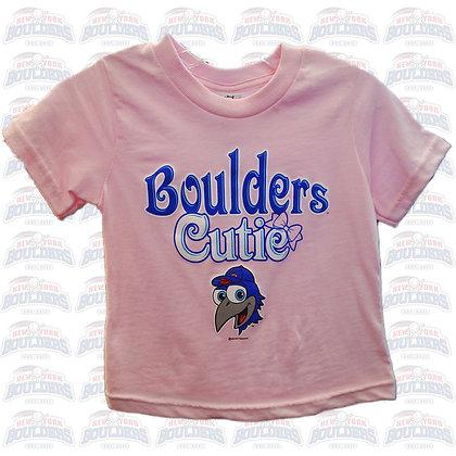 Light Pink 'Boulders Cutie' Toddler Tee