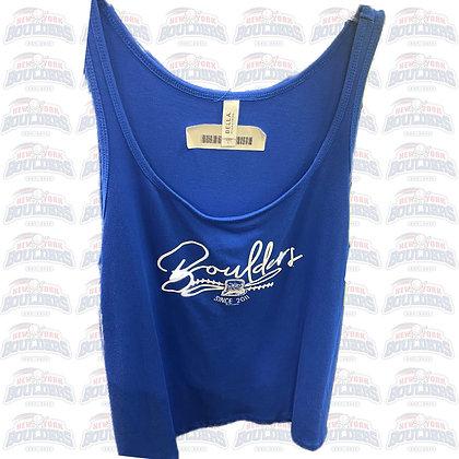 Royal Blue Women's 'Boulders' Tank Top