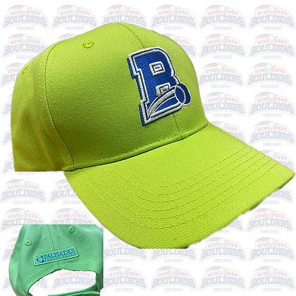 Lime Green 'B' Fundraiser Cap