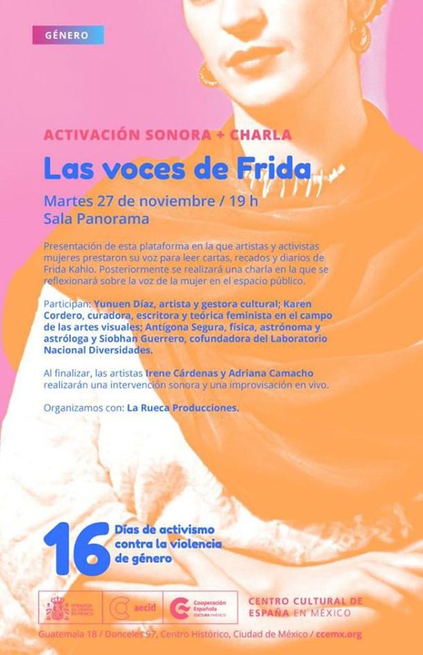 Las Voces de Frida Yunuen Díaz