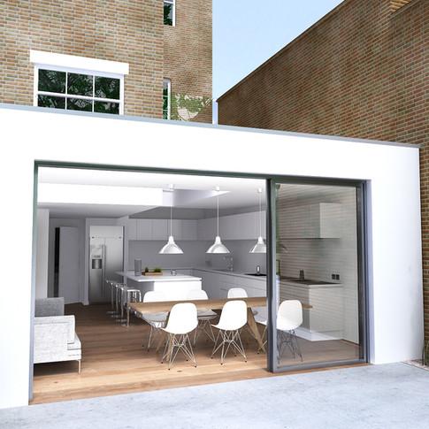 Twickenham House by Hugh Adlam Architects