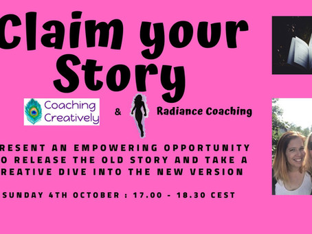 Ready, set, go and 'Claim your Story'!