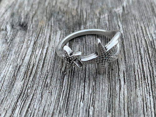 Star Pewter Ring