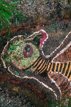 Kyber bird with Wardandi artist Mitchella Hutchins, Karridale Primary