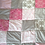 Thumbnail: Tagesdecke Patchwork in Pastell