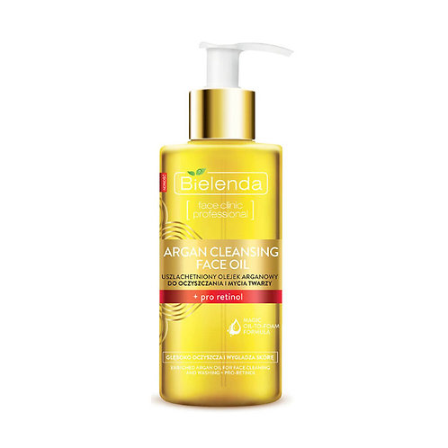 6pcs  Facial cleaner of argan oil + Pro Retinol 140ml