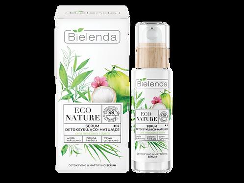 6PCS ECO NATURE - Coconut water + Green Tea + Lemon grass - detoxifying and matt