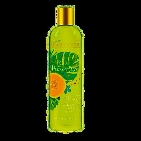 6PCS EXOTIC PARADISE Shower&bath oil Melon 400 ml