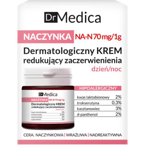 6pcs  Dr Medica Capillaries Dermatological Face Cream Reducing Skin Redness