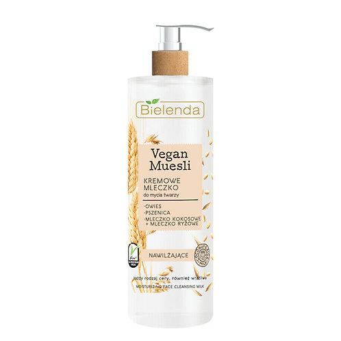 6pcs VEGAN MUESLI Creamy moisturizing face cleans milk oats + wheat + coco milk
