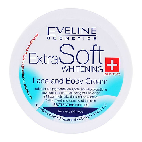 6PCS Extra Soft Face And Body Whitening Cream 200ml