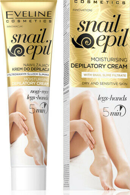10 PCS SNAIL EPIL MOISTURISING DEPILATORY CREAM 125 ML