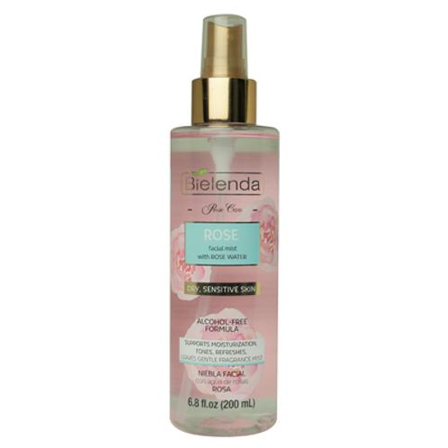 6pcs Bielenda Rose Facial Mist with Rose Water for Dry & Sensitive Skin-200ml