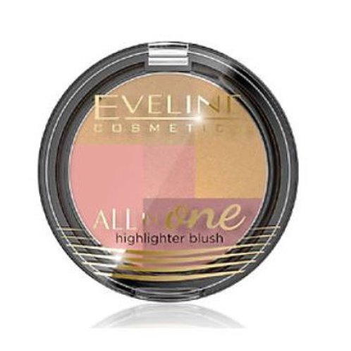 6 pcs MOSAIC BLUSH ALL IN ONE NO 01