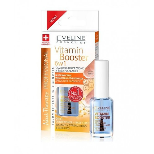 12PCS NAIL THERAPY CONDITIONER VITAMIN BOOSTER 6IN1 12ML