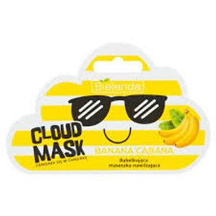 12pcs CLOUD MASK Moisturising BUBBLE Mask - Banana Cabana 6g