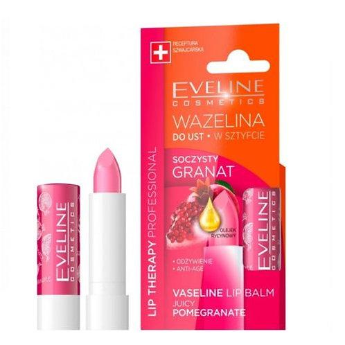 12 pcs Vaseline Lip Balm Juice Pomegranate Stick