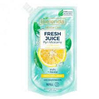 6pcs FRESH JUICE Refreshing micellar liquid YUZU - refill