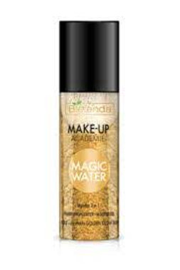 6pcs MAKE-UP ACADEMIE MAGIC WATER face mist 3 in 1 Gold 150 ml