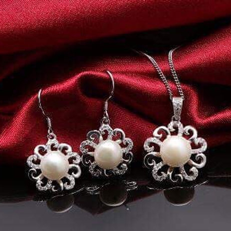 S925 STERLING SILVER SET