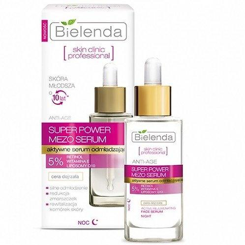 6PCS SKIN CLINIC PROFESSIONAL face serum with retinol and Q10 30 ml