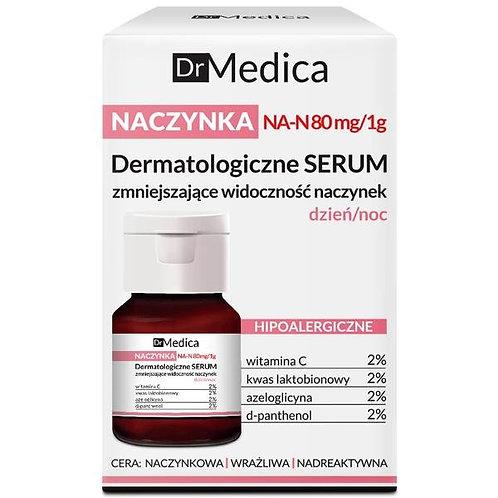 6PCS DR MEDICA CAPILLARIES DERMATOLOGICAL FACE SERUM REDUCING SKIN REDNESS DAY N