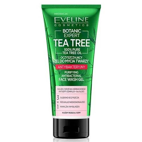 12PCS  BOTANIC EXPERT TEA TREE PURIFYING FACE WASH GEL 175ML