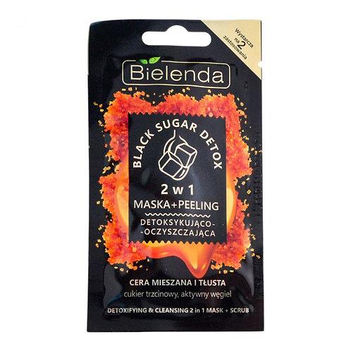 18pcs BLACK SUGAR DETOX 2 in 1 detoxifying and moisturizing
