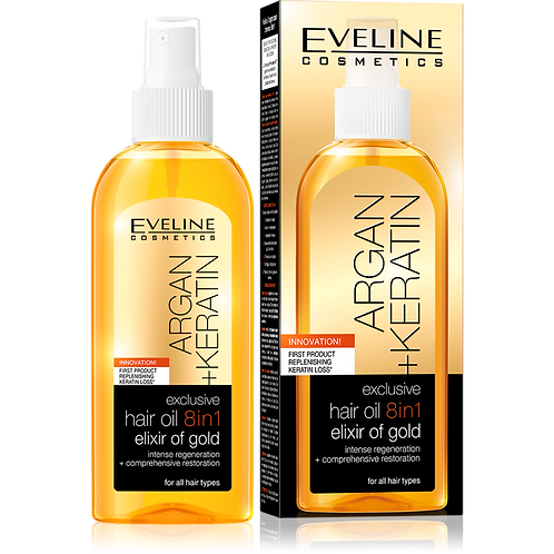 5PCS EXCLUSIVE HAIR OIL 8IN1