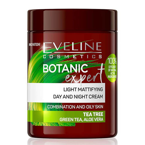 5PCS Botanic Expert Light Mattifying Day&Night Cream Tea Tree 100ml