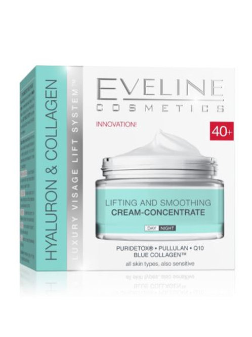 5PCS HYALURON&COLLAGEN DAY AND NIGHT CREAM 40+ 50ML