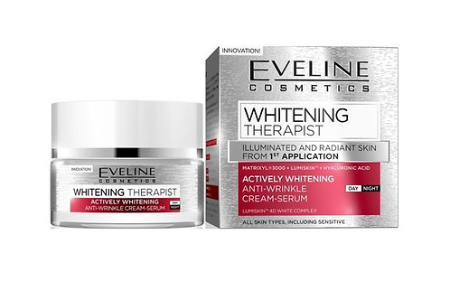 5PCS WHITENING THERAPIST DAY AND NIGHT CREAM-SERUM 50ML per unit: £2.11