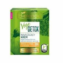 6PCS VEGE DETOX Normalising Face Cream - Kale & Beetroot Day/Night 50ml