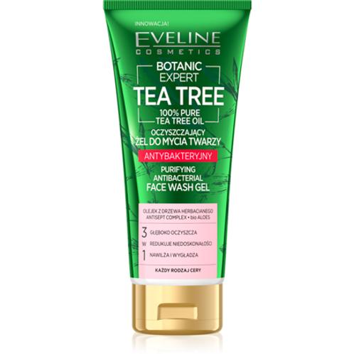 4pcs Botanic Expert Tea Tree Purifying and Antibacterial Face Wash Gel 175ml