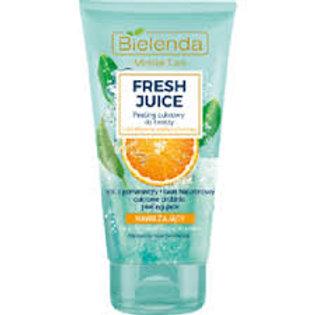 6PCS Fresh Juice Moisturising Face Sugar Scrub 150g