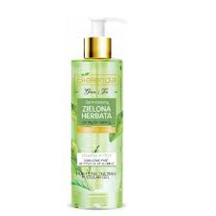 6PCS Green Tea Purifying Micellar Cleansing Face Gel for Mixed Skin 200ml`